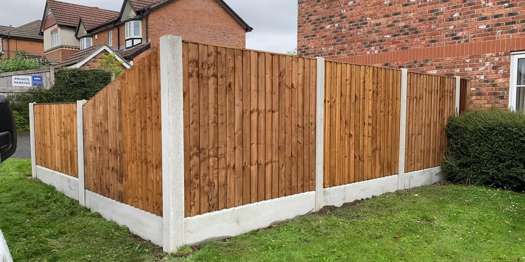 fence panels westhoughton